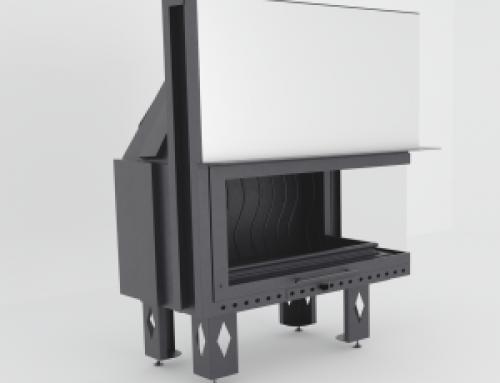 Asansör Kapaklı Sağ/Sol Tarafı Açık Çelik Hazne